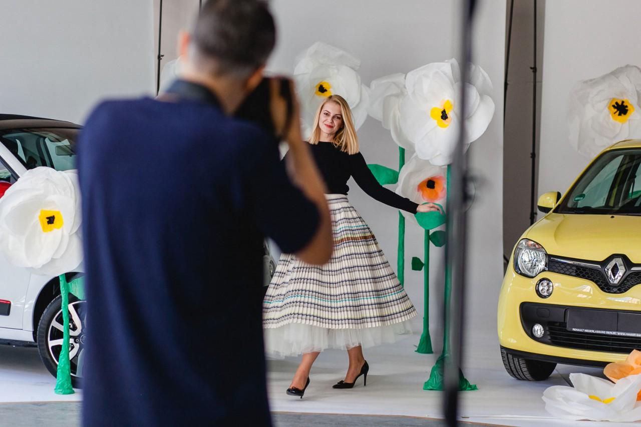 Patricia Haas Sistermag x Renault